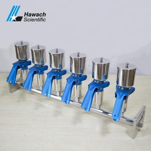 Six-Branches Stainless Steel Vacuum Filtrations