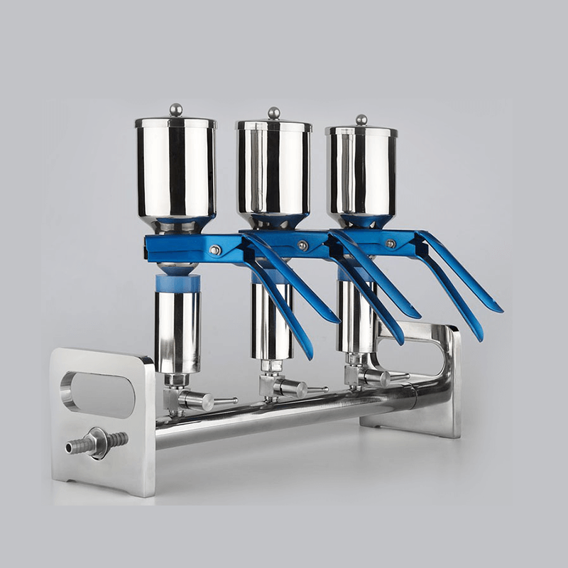 Stainless Steel Three-Branches Vacuum Filtrations